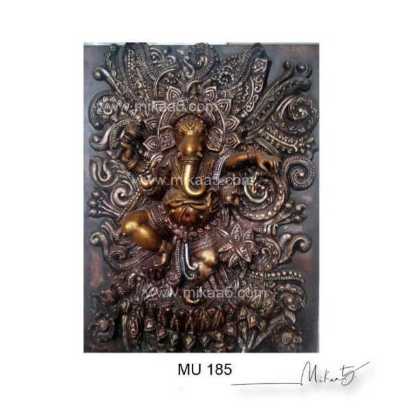 ganesha elevation wall murals
