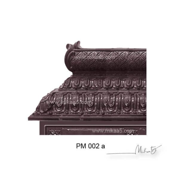 pooja mandir with door