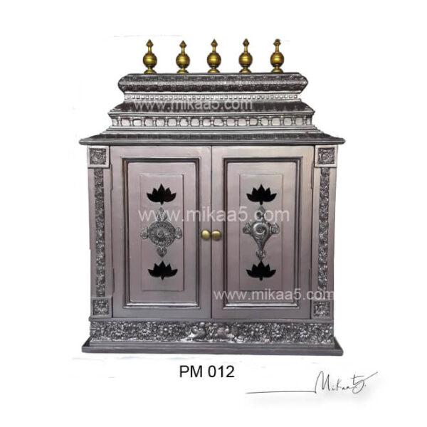 Kovil alwar Mandir with carved | Pooja mandapam with door