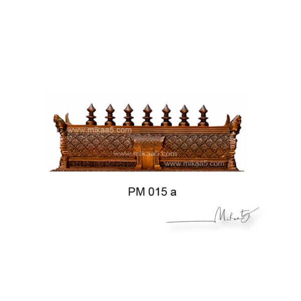 Asta lakshmi pooja mandir with kalasam